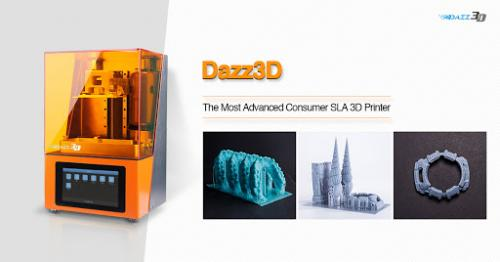 dazz 3d printer paling canggih